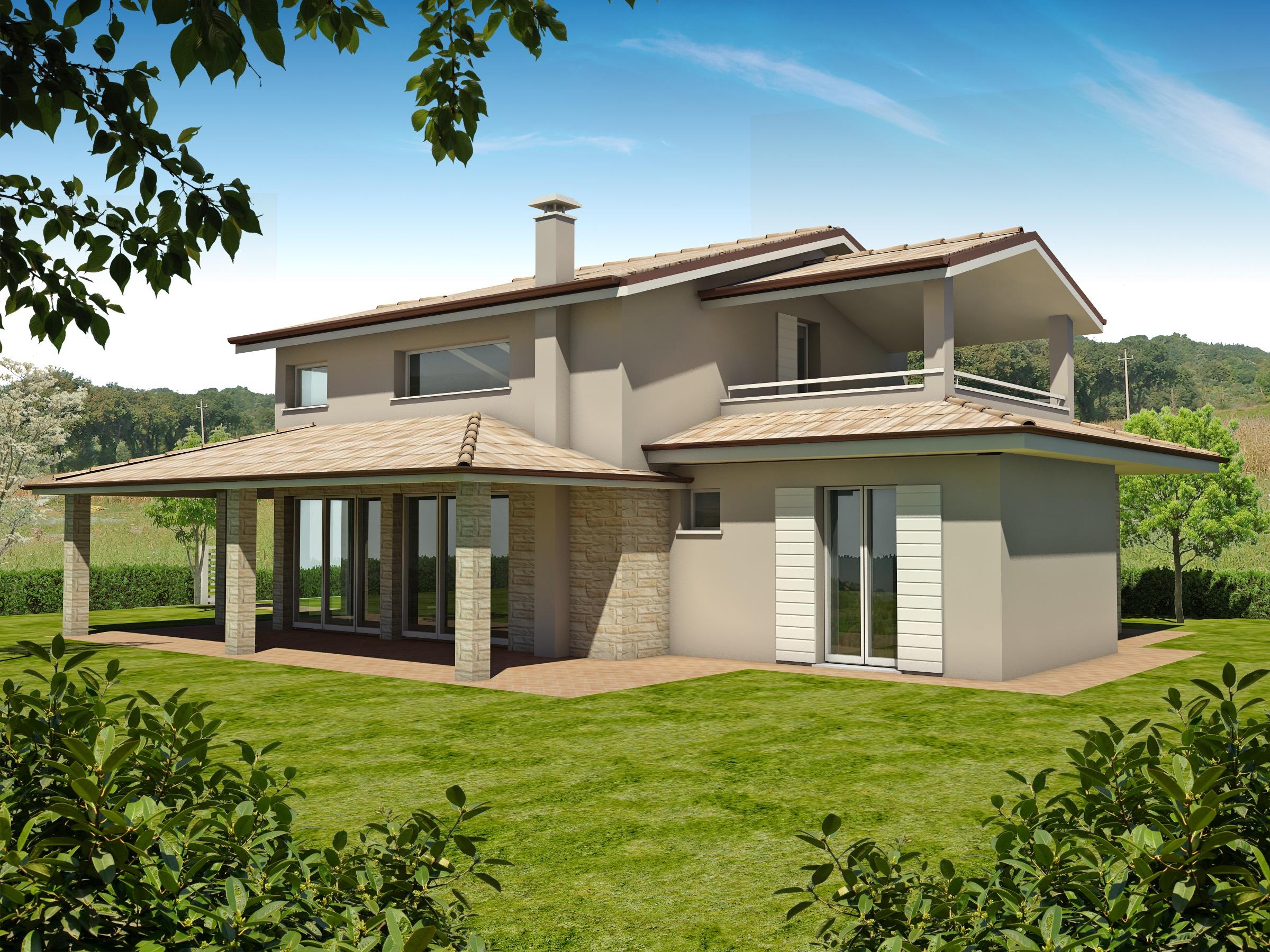 Elegant quanto costa una casa in legno solo euro la for Costo per costruire piani di casa
