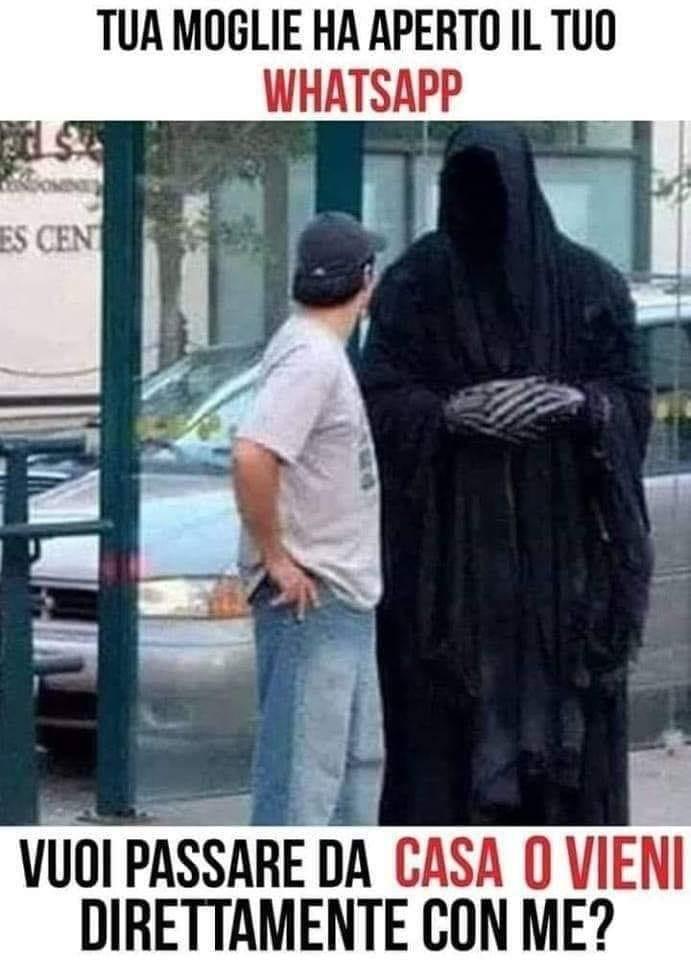 tua moglie ha aperto il tuo whatsapp