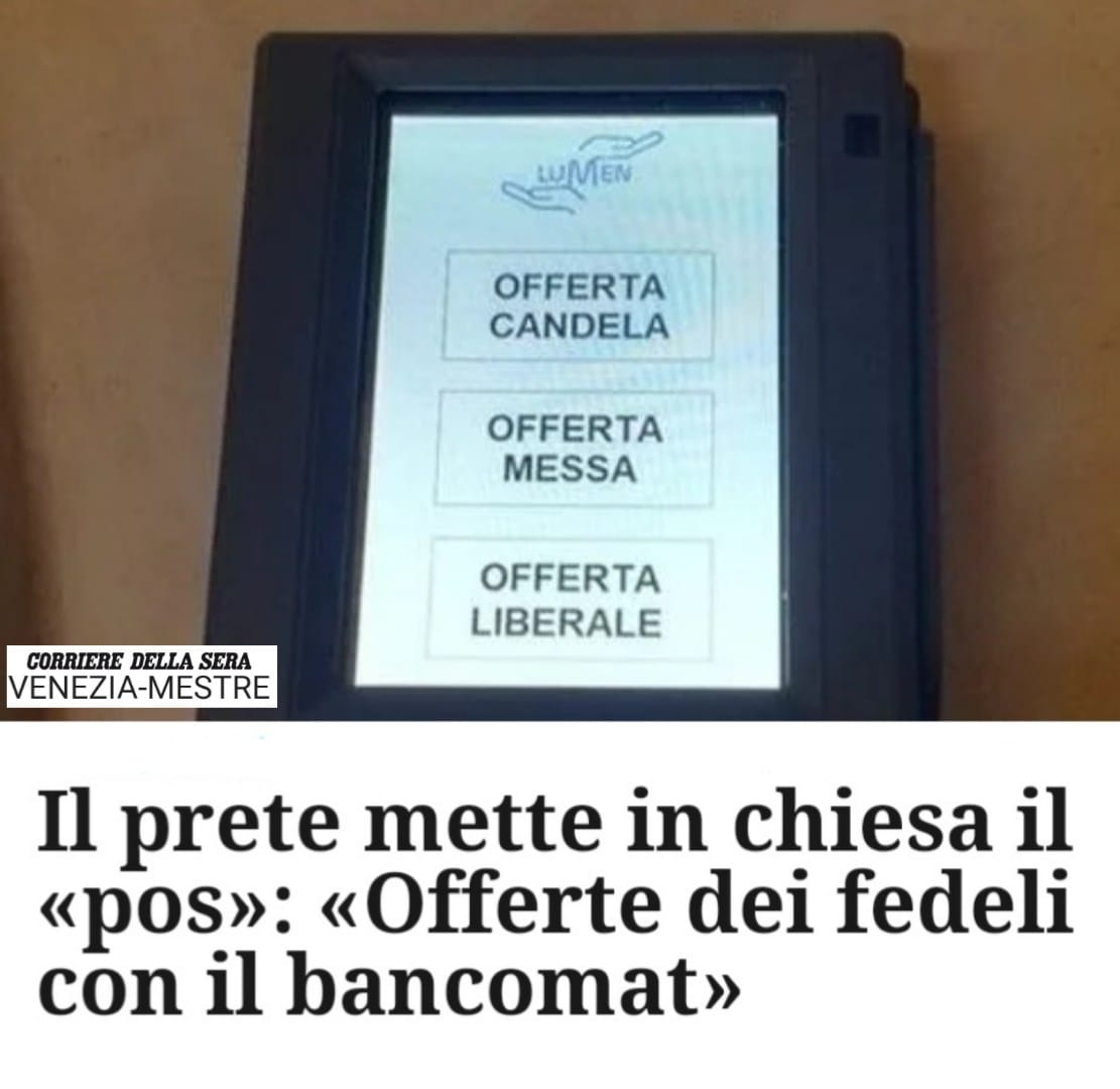 pos in chiesa